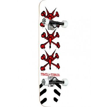 POWELL PERALTA Vato Rats Complete Skateboard 8,25 white
