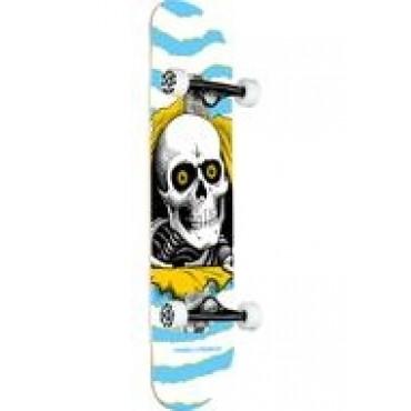 POWELL PERALTA Ripper mini Complete Skateboard 7,5 light blue