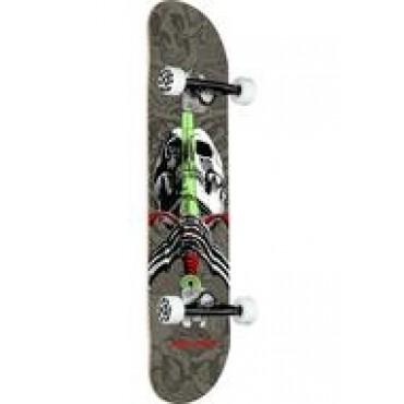 POWELL PERALTA Skull & Sword Complete Skateboard 7,5 grey