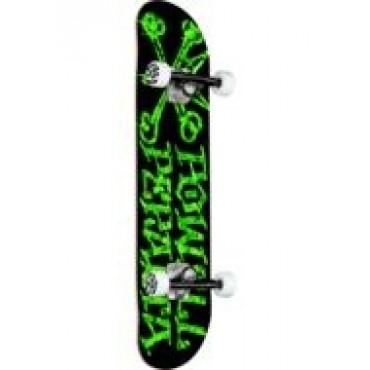 POWELL PERALTA Vato Rat sunset leaves Complete Skateboard 7,5 black