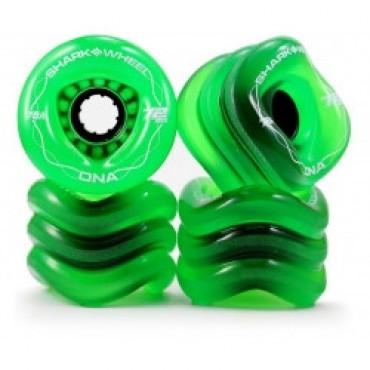 Shark Wheel DNA 72mm 78A Transparent Green