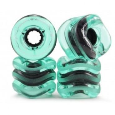 Shark Wheel California Roll 60mm 78A Transparent Emerald