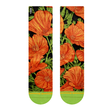MERGE4 Sock Slogan Poppy women one size