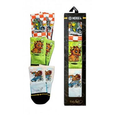 MERGE4 Steve Caballero Baby Sock 3 Pack