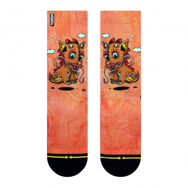 MERGE4 Sock Steve Caballero Baby Dragon Women one size