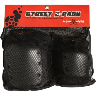 TRIPLE 8 Street 2 Pack Schützer Set