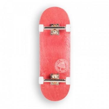 Berlinwood Fingerboard Wide 32mm BW Mini Logo Set red