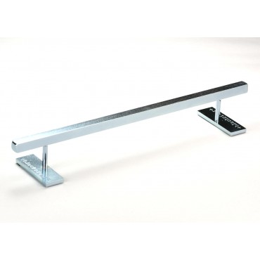 Blackriver Ironrail square low silver Fingerboard obstacle