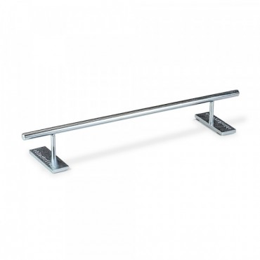 Blackriver Ironrail round low silver Fingerboard obstacle