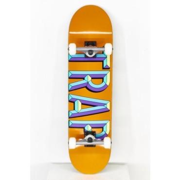 "TRAP Iron Logo orange 7,75"" Complete"