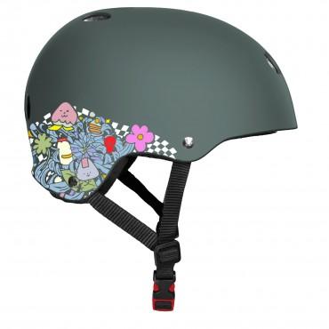 TRIPLE 8 Sweatsaver Certified Helmet Lizzie Armanto Gun rubber