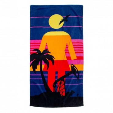 GIRL Rat Beach Towel