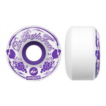 WRECK Film cuts Dr. Purple Teeth Wheel 54mm 78a