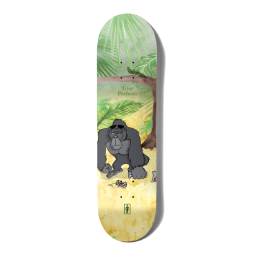 """GIRL Tyler Pacheco One offs Jungle Beers 8.0"""" Deck"""
