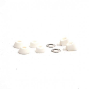 Blackriver Trucks First Aid Bushing classic white Fingerboard spare part