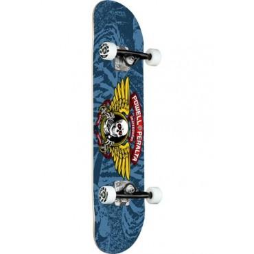 POWELL PERALTA Winged Ripper Complete Skateboard 8,0 dark blue