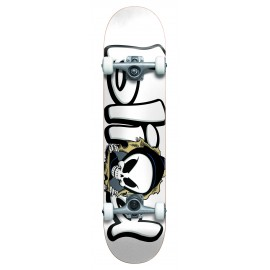 """BLIND Bust out FP Complete with soft wheels Skateboard 7,625"""" white"""