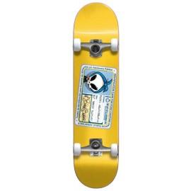 "BLIND OLD BONEY BASTARD FP Complete Skateboard 8,25"" yellow"