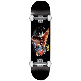 ENJOI Pizza Kitten Youth 7.25 Complete Skateboard black
