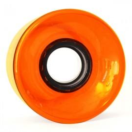 Cruiser Wheel 60mm 83A orange gel