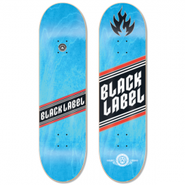 BLACK LABEL Team Top Shelf Deck 8,0 light blue