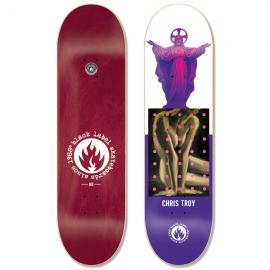 "BLACK LABEL Chris Troy Juxtapose 8.5"" Deck"