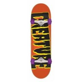 CREATURE Logo Sk8 Complete Skateboard 7,5 orange