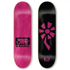 BLACK LABEL Team Flower Power Deck 8,5 black blue