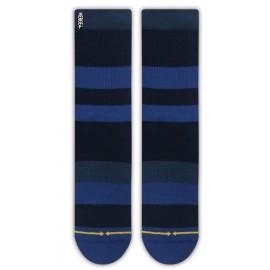 MERGE4 Sock Midnight Spidey stripe bamboo L