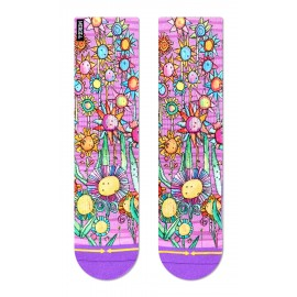 MERGE4 Sock Otis Link Floral women one size