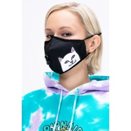 RIPNDIP Lord Nermal ventilated Face Mask black