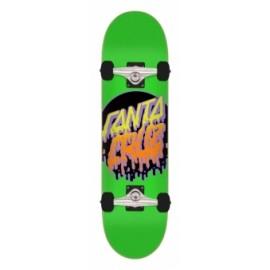 SANTA CRUZ Rad Dot Complete Skateboard 7,5 green